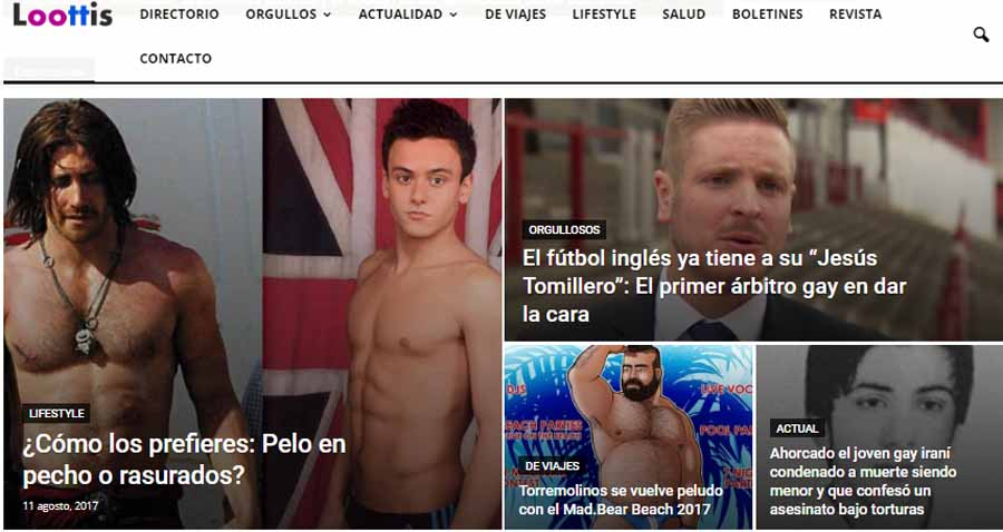 """Turismo Turismo Loottis es el portal líder para el turismo LGBT """"Made in Spain"""" con más de 60.000 reservas mensuales"""