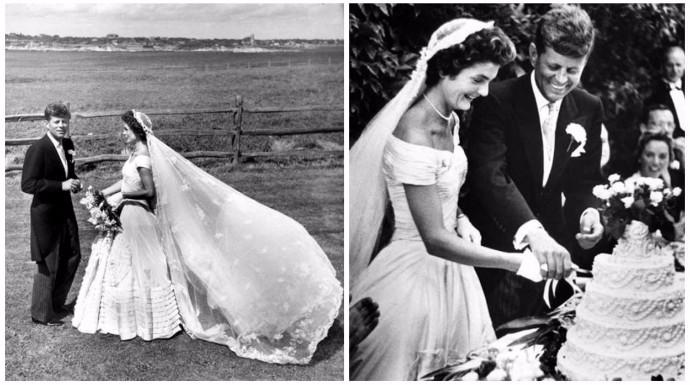 Moda Moda El vestido de novia de Jackie Kennedy cumple 63 años como icono de estilo