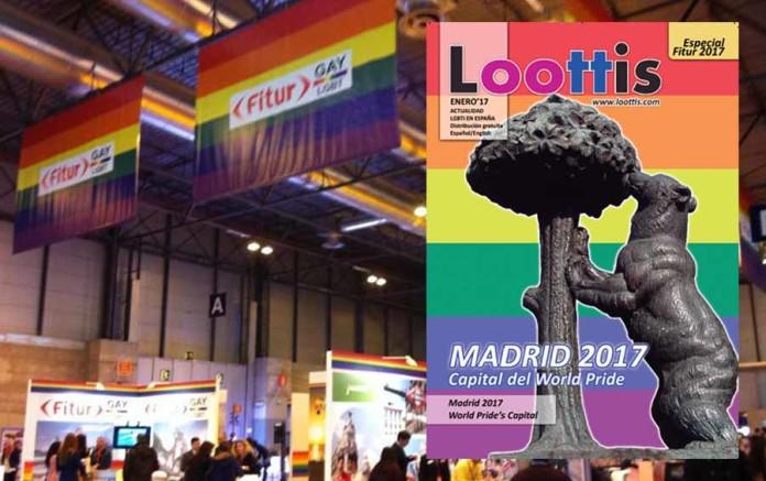 Gays Gays Llévate en Fitur 2017 de Madrid tu ejemplar gratuito de la nueva revista Loottis Magazine