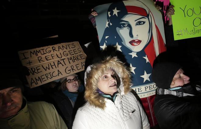 Actualidad Actualidad Cien diplomáticos de EEUU protestan contra el veto migratorio de Trump