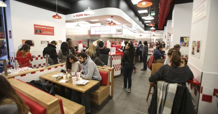 Restaurantes Restaurantes Las cadenas de restauración crecen un 7,8% mientras el resto del sector frena