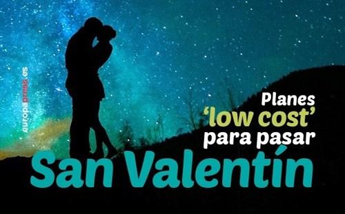 Turismo Turismo Cinco planes 'low cost' para disfrutar de San Valentín