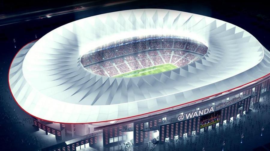 Deportes Deportes El Atlético de Madrid ofrece en Wanda para la final de Copa