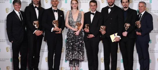 Actualidad Actualidad «La La Land» triunfa los Bafta y llega lanzada a los Óscar