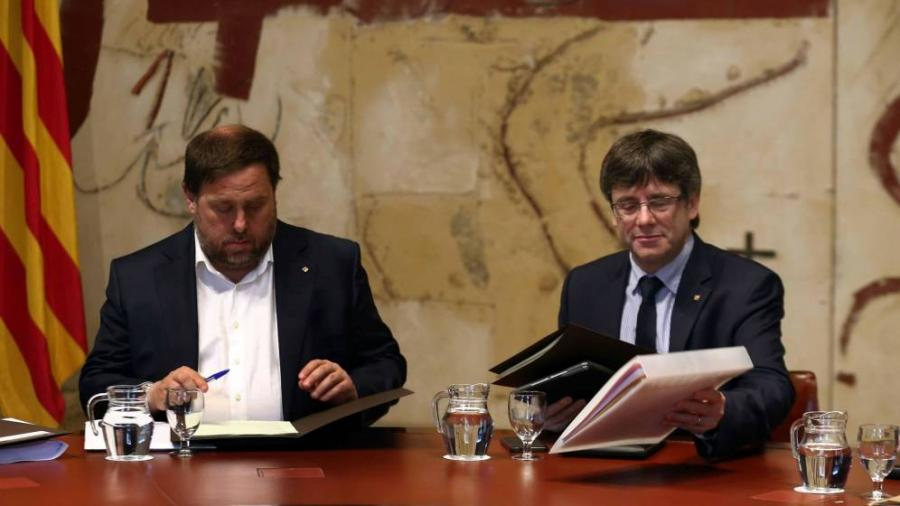 Actualidad Actualidad Las seis groseras falsedades y omisiones de Junqueras y Puigdemont