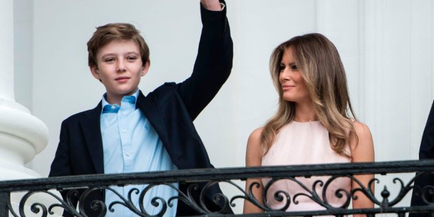 Actualidad Actualidad Melania y Barron Trump se mudan al fin a Washington