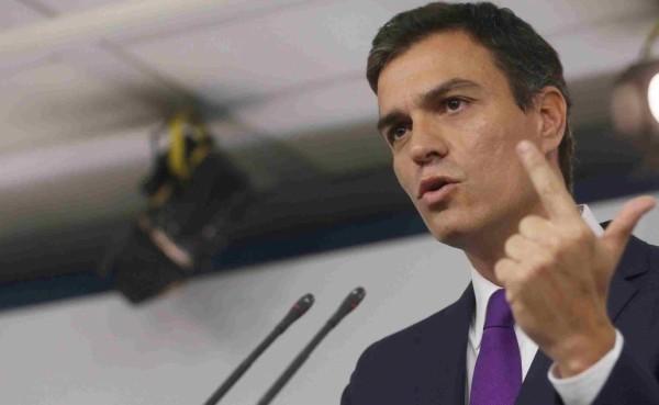 Actualidad Actualidad Sánchez garantiza a Rajoy su apoyo contra la consulta ilegal de Cataluña
