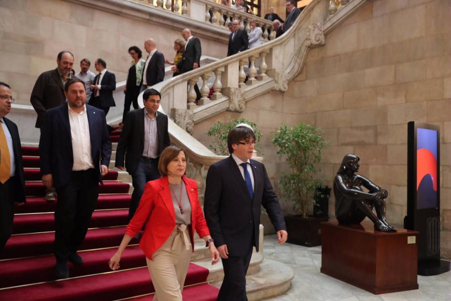Actualidad Actualidad El partido de Colau se desmarca del referéndum unilateral de Puigdemont