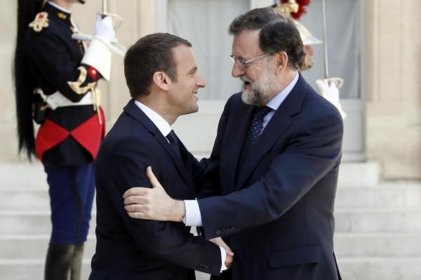 Actualidad Actualidad Macron, sobre Cataluña: «Sólo conozco un socio y un amigo, España entera»
