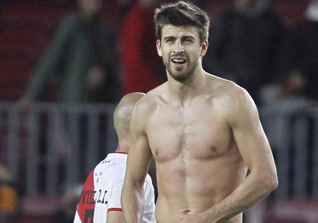 Deportes Deportes El cuerpazo de Gerard Piqué desnudo