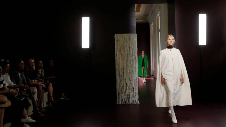 Moda Moda La alta costura desciende a la calle en París