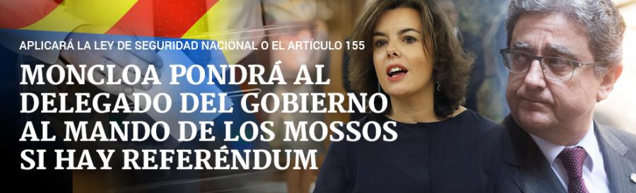 Actualidad Actualidad Moncloa se asegurará el control de los Mossos pese a las maniobras de Puigdemont