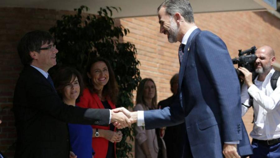 """Actualidad Actualidad El Rey pide en Barcelona """"trabajar juntos, en la misma dirección y sumar esfuerzos"""""""