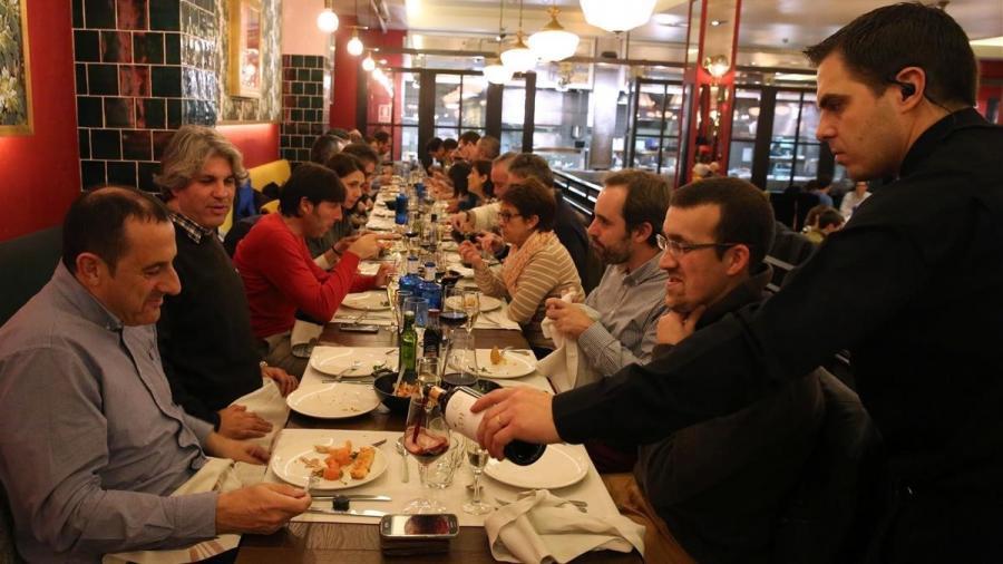 Restaurantes Restaurantes Los barceloneses gastan 1.536 euros al año en restaurantes