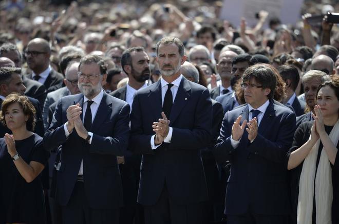 Actualidad Actualidad Atentado en Barcelona: El Rey asistirá a la manifestación contra el terrorismo en Barcelona