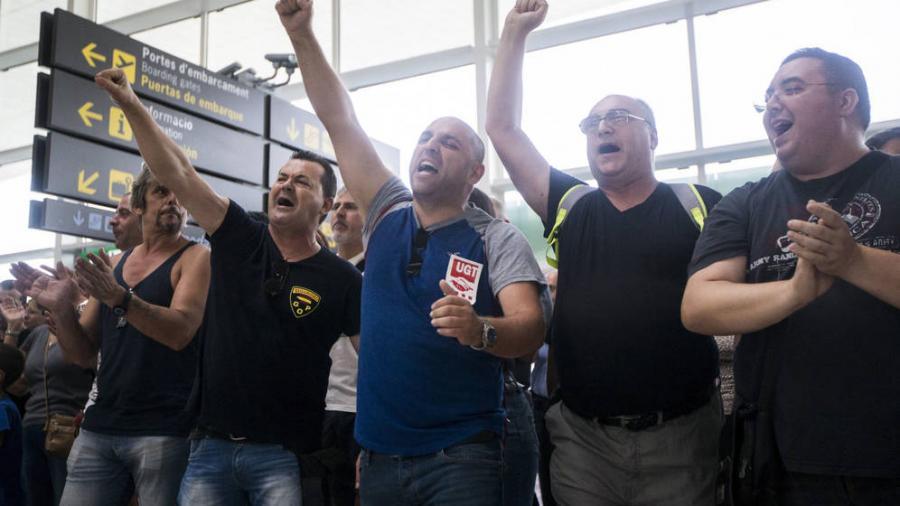 Actualidad Actualidad Los trabajadores de Eulen en El Prat volverán a la huelga el 8 de septiembre.