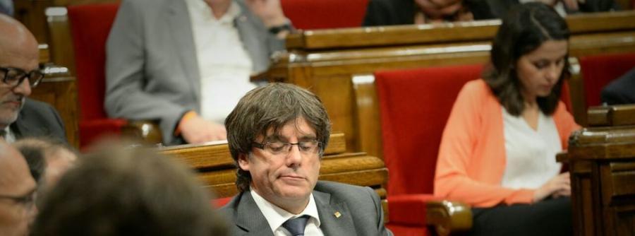 Actualidad Actualidad Puigdemont y los consellers se exponen a la inhabilitación, multas e incluso la cárcel si siguen adelante con el 1-O
