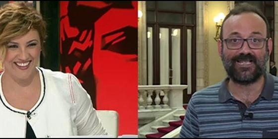 Actualidad Actualidad Cristina Pardo se descojona de un diputado de la CUP que convierte 'Al Rojo Vivo' en 'El Club de la Comedia' con sus ridículos argumentos separatistas