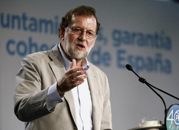 Actualidad Actualidad Rajoy, a los alcaldes: «Tenéis detras a mucha gente y al Estado»