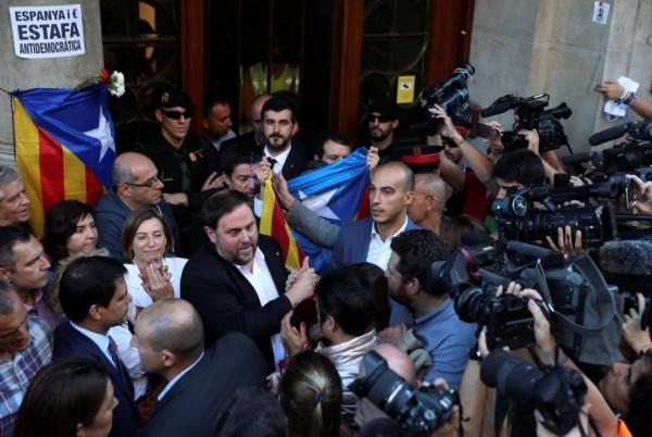 Actualidad Actualidad Junqueras plantea ahora el 1-O como una moción de censura a Rajoy