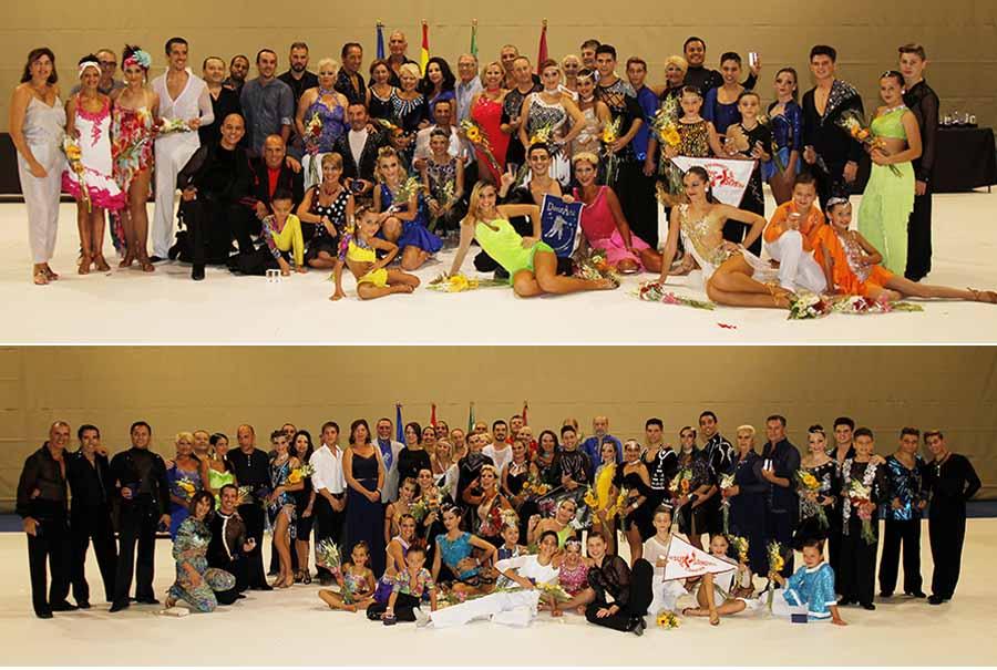 Baile Baile Cerca de cien bailarines deslumbraron en el Campeonato de Baile Retro Ciudad de Chiclana