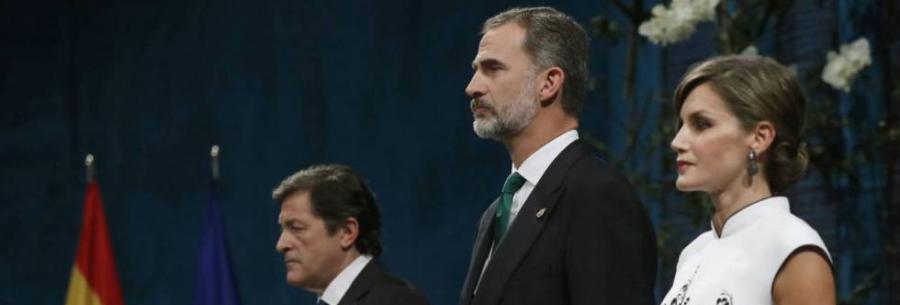 """Actualidad Actualidad El Rey: """"España resolverá el inaceptable intento de secesión por medio de la Constitución"""""""