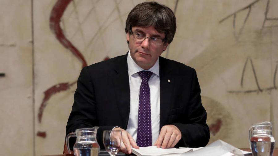 Actualidad Actualidad Independencia de Cataluña: Puigdemont prepara la declaración de independencia de Cataluña para el lunes