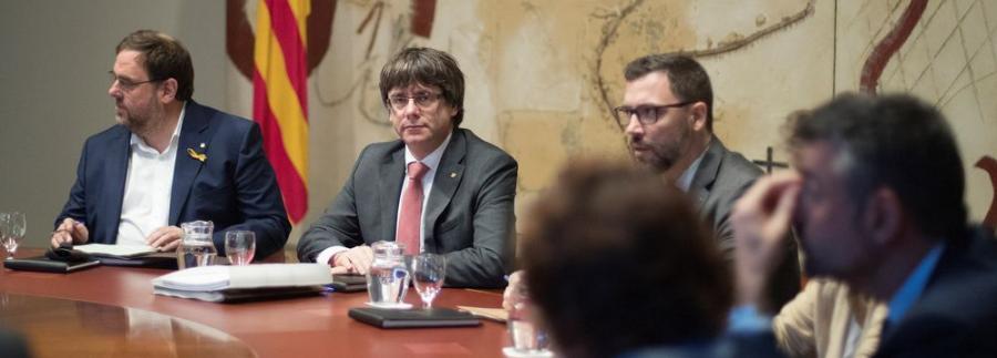 """Actualidad Actualidad Seis horas en el camarote de Puigdemont: """"Café, más café... e independencia"""""""