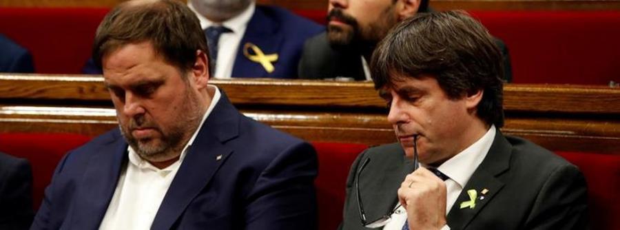"""Actualidad Actualidad Junqueras asegura que Puigdemont está en Bélgica para """"trabajar"""" y evita concretar si pedirá asilo"""
