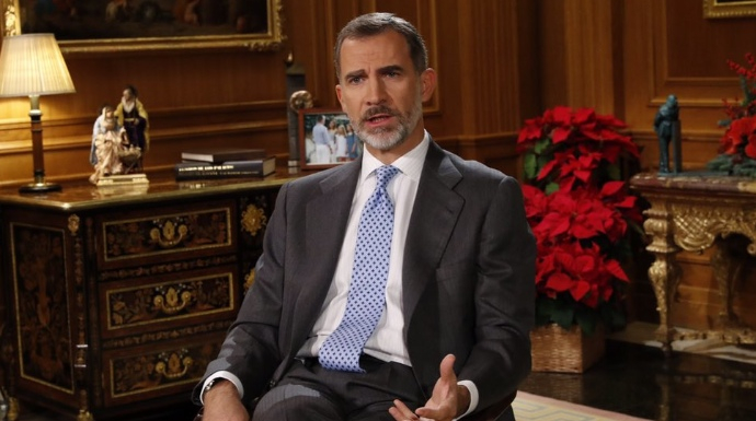 Actualidad Actualidad El Rey Felipe deja en ridículo a Pablo Iglesias y Podemos por Navidad