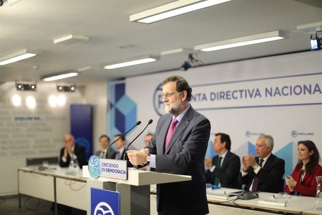 Actualidad Actualidad Rajoy avisa de que Puigdemont no puede ser presidente desde Bruselas y que el 155 seguirá en ese caso en vigor