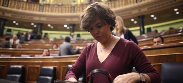 """Actualidad Actualidad Soraya Sáenz de Santamaría: """"Puigdemont llegó al final del trayecto y no va a ser president"""""""