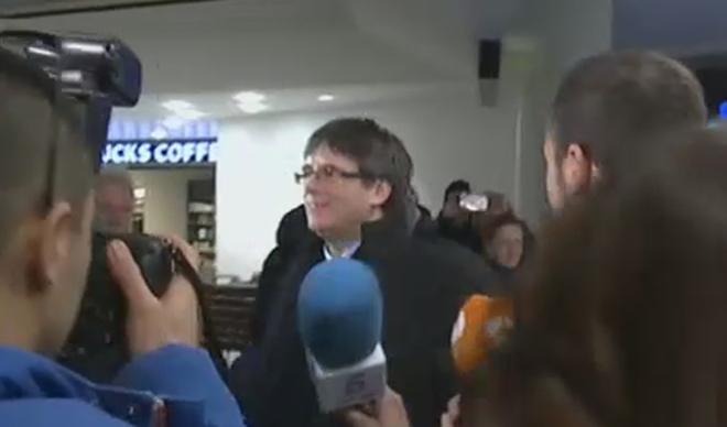 Actualidad Actualidad La Fiscalía solicita cursar la euroorden contra Puigdemont tras aterrizar en Copenhague