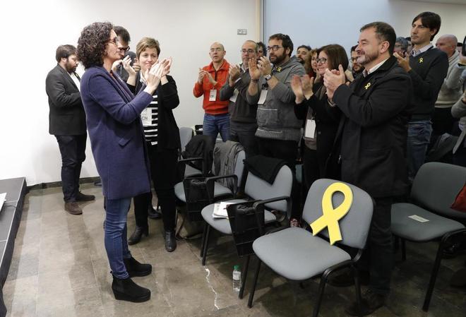 """Actualidad Actualidad ERC presiona a Puigdemont para la presidencia simbólica: """"No necesitamos acuerdos a medias"""""""