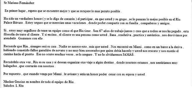 Actualidad Actualidad Luis Riu: Las pruebas contra el dueño de los hoteles RIU detenido en Miami: 225 noches en hotel de lujo y suites con jacuzzi