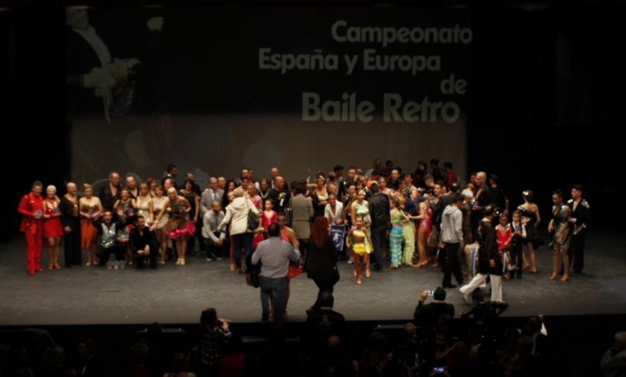 Baile Baile Las Finales de Europa de Vals, Tango y Chachachá brillaron con luz propia en el Palacio de la Paz de Fuengirola