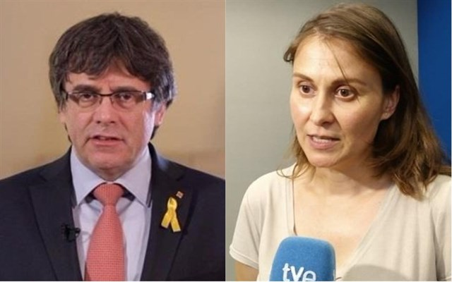 """Actualidad Actualidad La Fiscalía pide al juez que """"determine la viabilidad"""" de detener de Puigdemont y Serret si viajan a Suiza"""