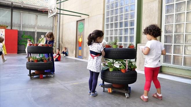 Actualidad Actualidad Barcelona abre 17 patios escolares durante la Semana Santa