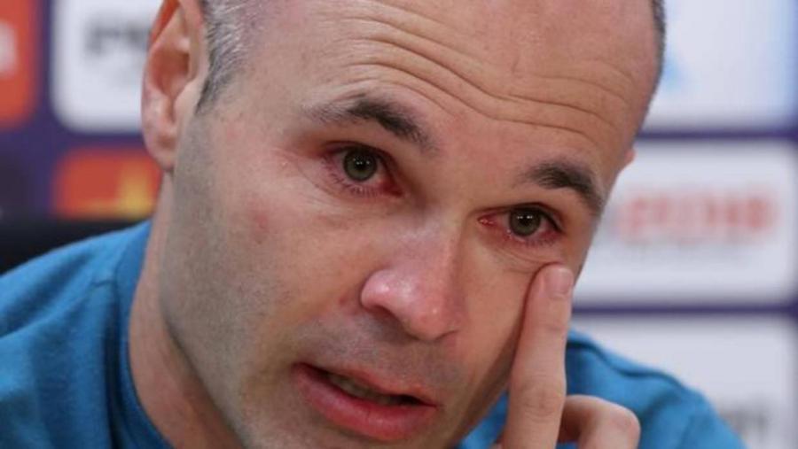 Deportes Deportes Iniesta confirma su adiós entre lágrimas