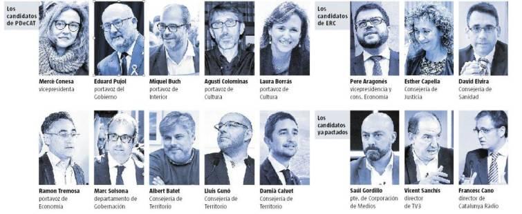 Actualidad Actualidad PDecat y ERC se reparten el Govern a la espera de Puigdemont