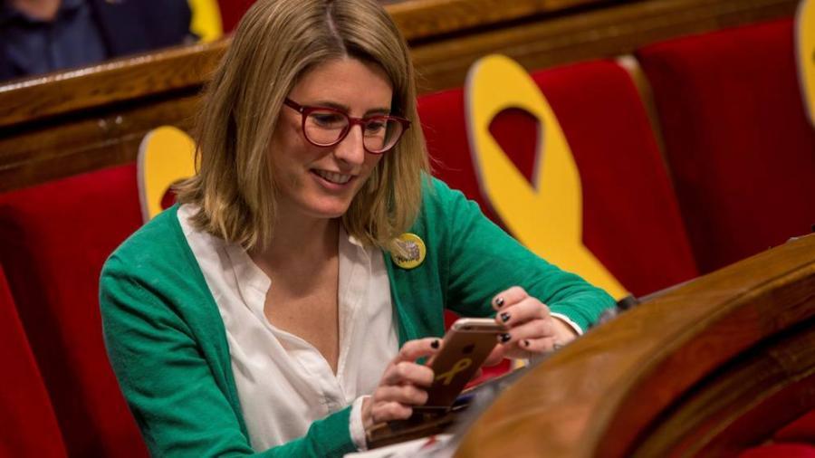 Actualidad Actualidad Elsa Artadi retira su candidatura ante el papel simbólico que impone Puigdemont