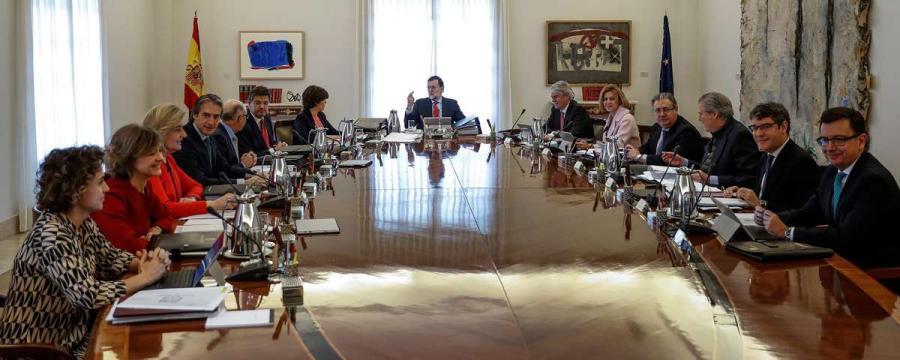 Actualidad Actualidad Consejo de Ministros extraordinario para impedir la investidura de Puigdemont