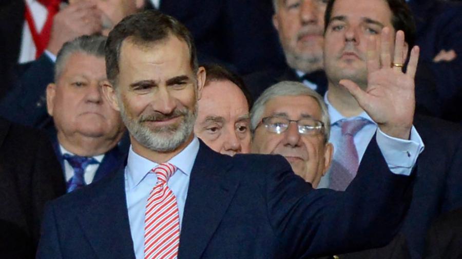 España España Atlético de Madrid: El rey Felipe VI acudirá a Lyon a la final de la Europa League