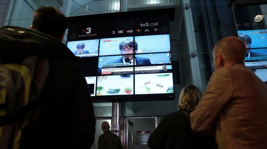Actualidad Actualidad Puigdemont gastó 47 millones de euros en publicidad oficial mientras preparaba la secesión
