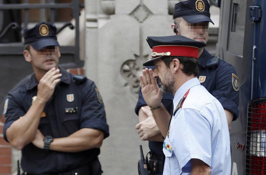 """Actualidad Actualidad Malestar entre los mandos de los Mossos por la destitución """"sin razón objetiva"""" de Ferran López"""