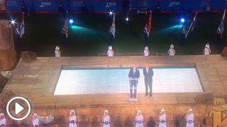 Actualidad Actualidad Abuchean a Torra en la inauguración de los Juegos Mediterráneos por menospreciar a la ciudad