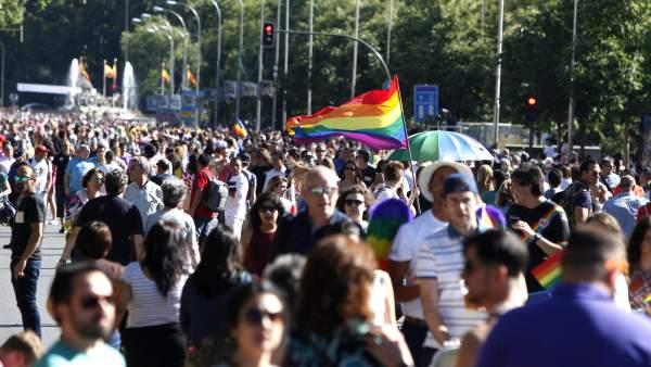 Gays Gays Dispositivo del Orgullo Gay 2018 en Madrid: transporte, limpieza e iluminación
