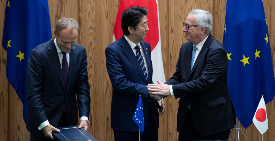 Actualidad Actualidad La UE firma con Japón su acuerdo comercial más ambicioso