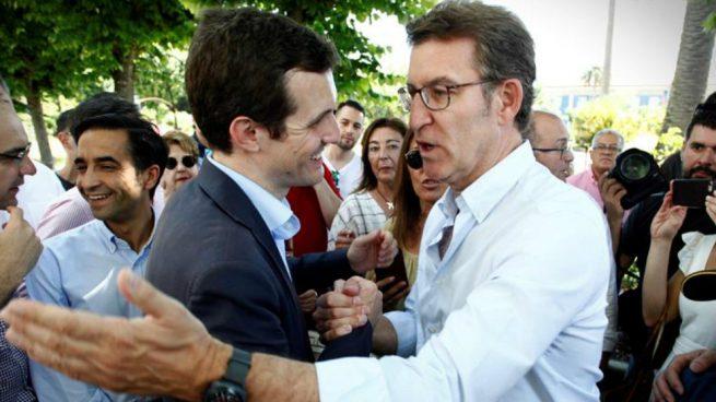 Actualidad Actualidad Coruña, Pontevedra y Lugo apoyan a Casado: ya tiene el 70% de los compromisarios gallegos