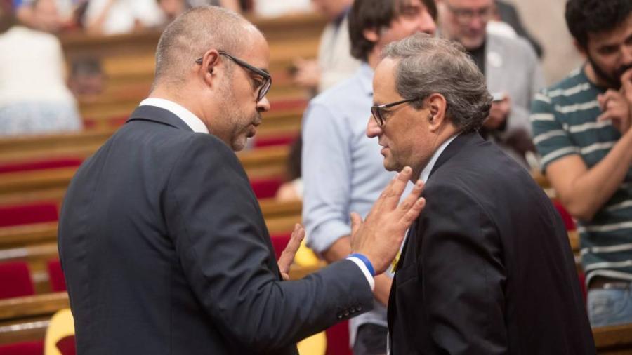 Actualidad Actualidad El independentismo planea ya elecciones en otoño para salvar sus guerras internas
